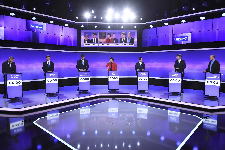 Les candidats se préparent au troisième et dernier débat avant le premier tour de la primaire à gauche, le 19 janvier.