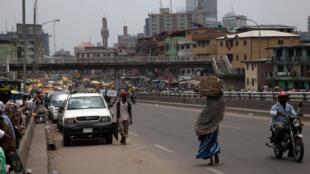 Tsakiyar Birnin Lagos a Najeriya