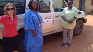 Membres de l'équipe du PAM à Bangui.
