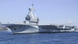 Le porte-avions français «Charles-de-Gaulle» ne sera pas disponible avant 2019.