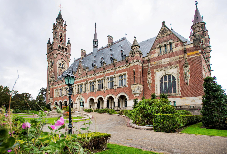 Tòa Công Lý Quốc Tế (Cour internationale de Justice - CIJ), La Haye. Ảnh chụp ngày 27/08/2018.