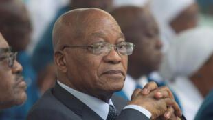 Rais wa Afrika Kusini, Jacob Zuma.