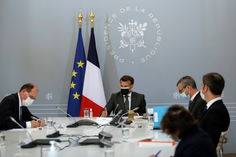-CORONAVIRUS--FRANCE Macron
