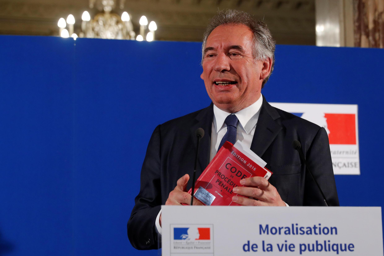 فرانسوا بایرو وزیر دادگستری فرانسه