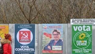 En Émilie-Romagne, les premières tendances donnent gagnant le Parti démocrate face à la La Ligue de Matteo Salvini