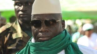 Gambian President  Yahya Jammeh in 2011