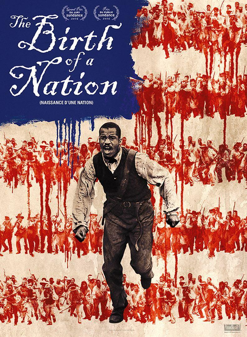 Affiche du film «The birth of a nation».