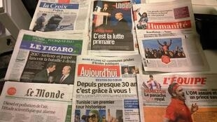 Diários franceses 24.11.2014
