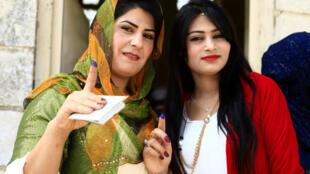 伊拉克库尔德自治区举行独立公投。2017-09-25