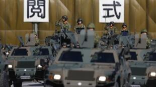 2013年10月27日, 日军举行每年的阅兵式。
