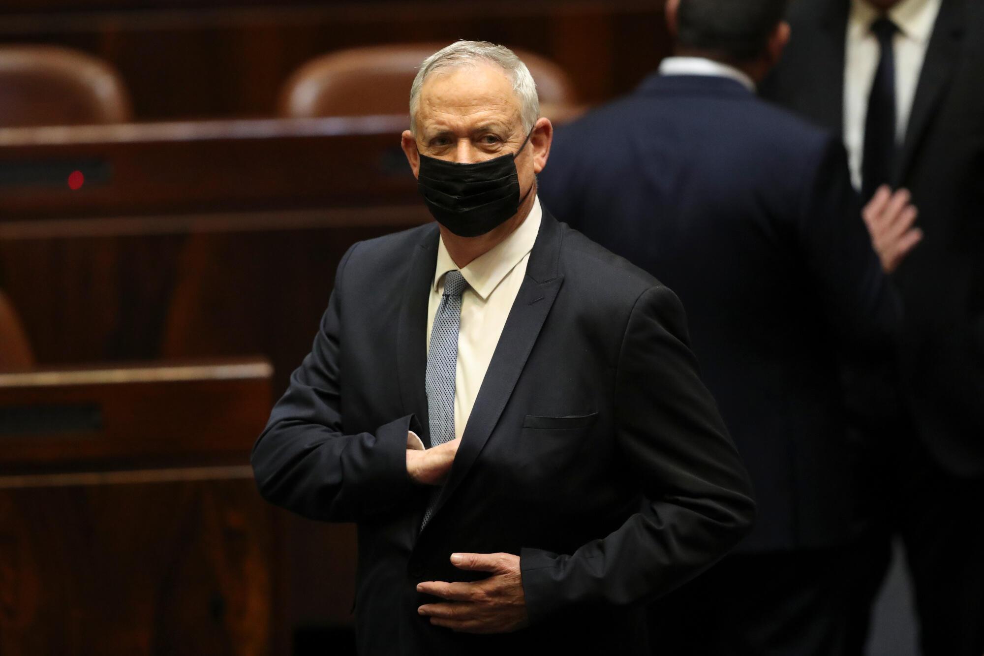 Israel - Benny Gantz - ministre de la Justice