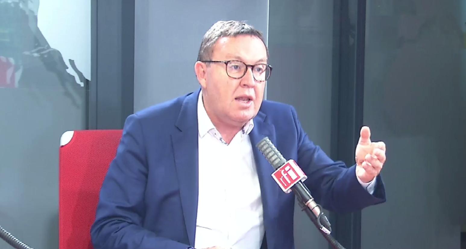 Éric Diard, député LR interrogé par Eric Rivière le 22 juillet 2021