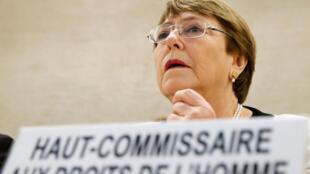 Michelle Bachelet, haute-commissaire aux droits humains de l'ONU, le 6 mars 2019.