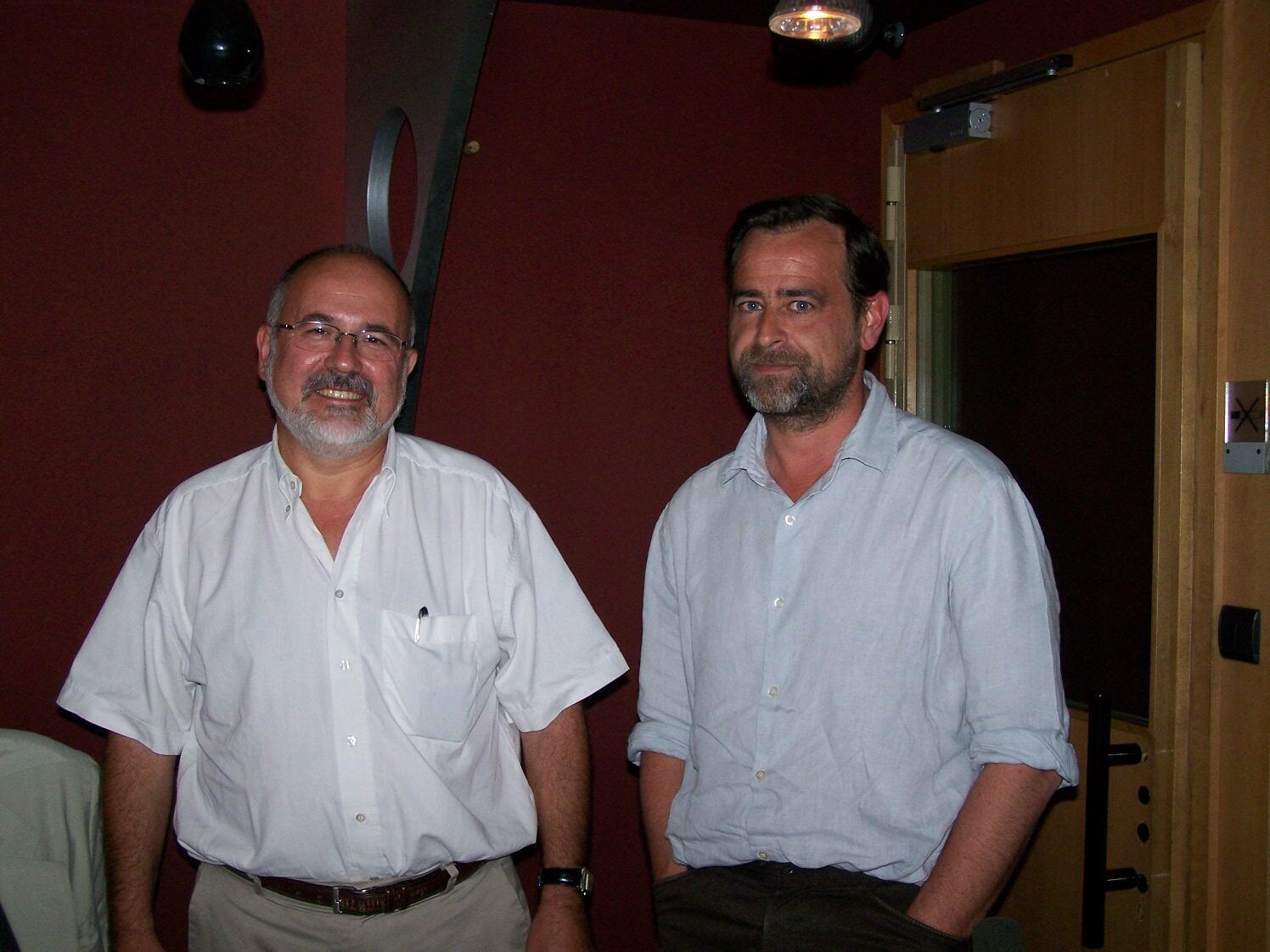 Philippe Bouchet et Olivier Pascal