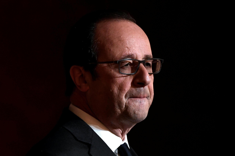 O Presidente francês François Hollande não se candidata a um segundo mandato.