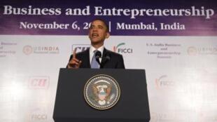 Барак Обама в Мумбаи