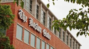 Trụ sở báo Boston Globe, tại Boston, Massachusetts.