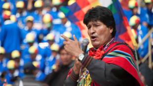 El ex mandatario boliviano en 2016. Archivo.