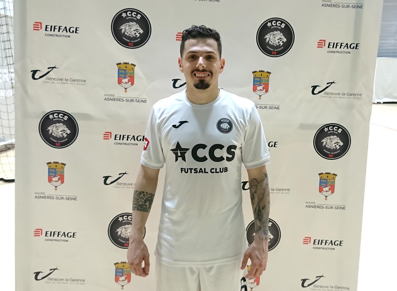 Bruno Coelho, internacional português do Accs.