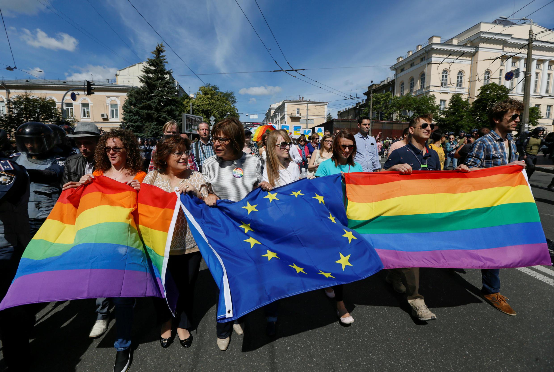 """""""Марш равенства"""" в Киеве, 12 июня 2016 г."""
