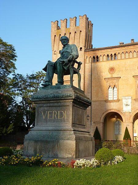 A cidade de Busseto começou as comemorações hoje pela manhã, dos 200 anos do compositor.