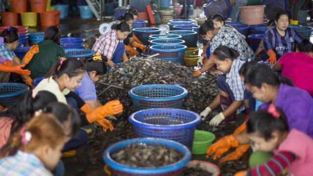 又是海鲜市场:泰国突爆新冠集中感染(photo:RFI)