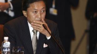 Le Premier ministre japonais, Yukio Hatoyama, au sommet de l'Asean, le 24 octobre 2009.