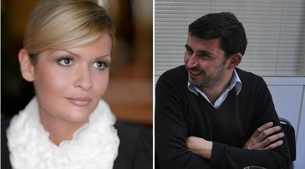 Лола Каримова и журналист Rue89 Огюстен Скалбер