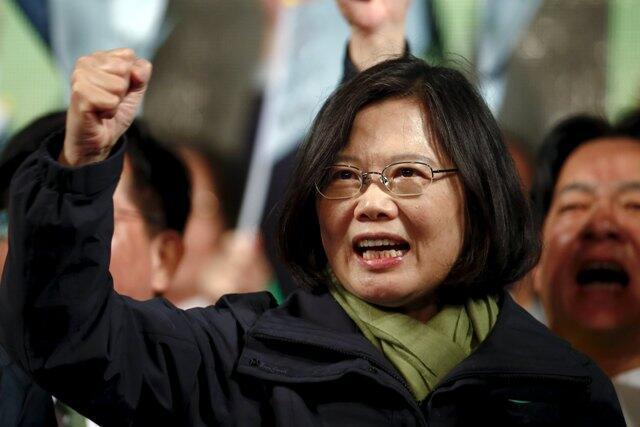Tsai Ing-Weng mace ta farko da ta samu nasarar lashe kujerar shugaban kasar Taiwan