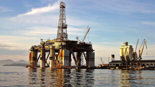 Plataforma de petróleo.