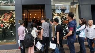 Hermès en Chine : ventes records à Canton.