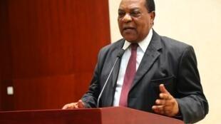 Waziri wa Mambo ya nje wa Tanzania Augustine Mahiga