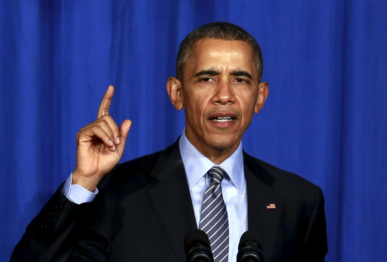 Le président Barack Obama, le 9 novembre 2015.
