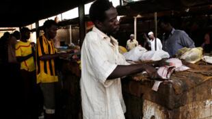 Un marché à Khartoum, la capitale soudanaise (image d'illustration).