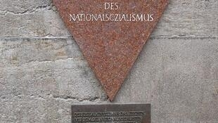Pink Triangle Memorial in Berlin
