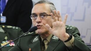 O comandante do Exército, general Eduardo Dias da Costa Villas Bôas