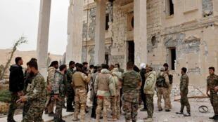 Sojoji sun Fatataki IS daga Palmyra