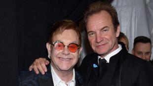 Sting Elton John