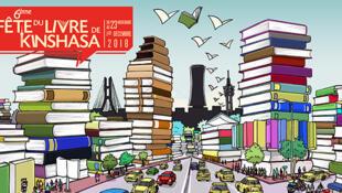 6e édition de la fête du livre à Kinshasa.