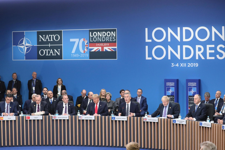 2019年12月4日北約組織成員國領導人峰會在倫敦舉行。