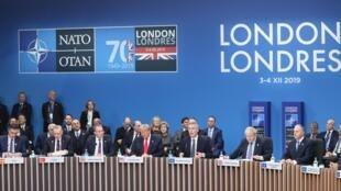 2019年12月4日北约组织成员国领导人峰会在伦敦举行。