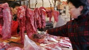 La viande bovine française, était interdite en Chine depuis 2001, suite à la crise de la vache folle.