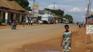 Une rue de Beni, au Nord-Kivu, en RDC.