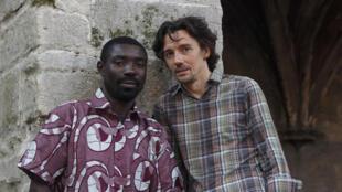Les deux artistes associés du Festival d'Avignon 2013 : Dieudonné Niangouna et Stanislas Nordey.