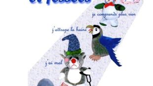 O cartaz acima, realizado na França, tenta mostrar que a maioria das crianças não entende porque está apanhando.