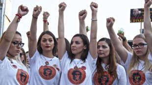 Des manifestations quasi-quotidiennes à Banja Luka.