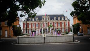 Palais présidentiel d'Ambohitsorohitra, centre-ville d'Antananarivo.