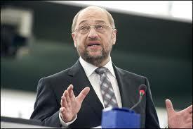 O presidente do Parlamento Europeu, Martin Schulz.