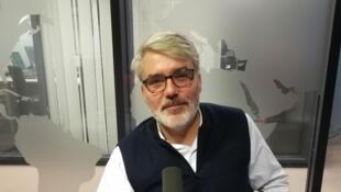 Nicolas Pagnol, petit-fils de Marcel Pagnol, en studio à RFI (décembre 2019)