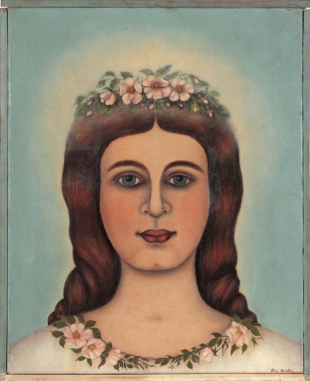 Élise Müller, A Filha de Jairus, 3 de agosto-15 de setembro de 1913, óleo sobre tela e madeira, 51,6 × 42 cm, LaM,